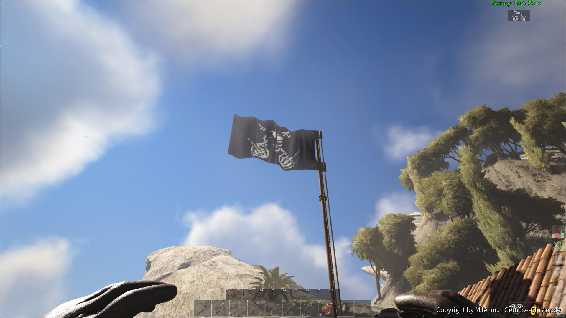 Dodo Frodos Flagge
