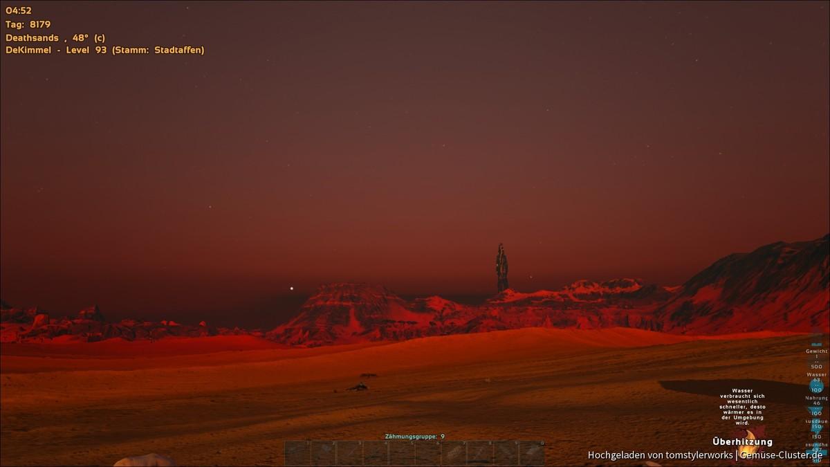 Morgenrot auf Ragnarok