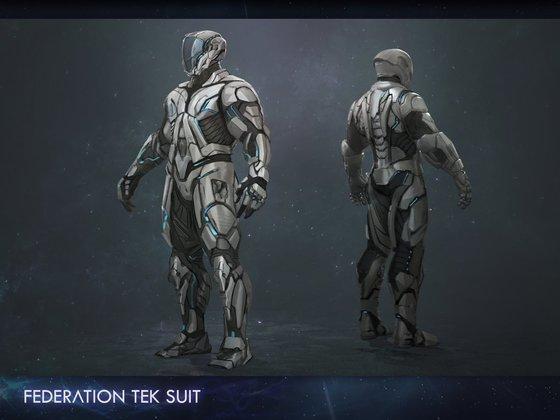 Federation Tek Suit