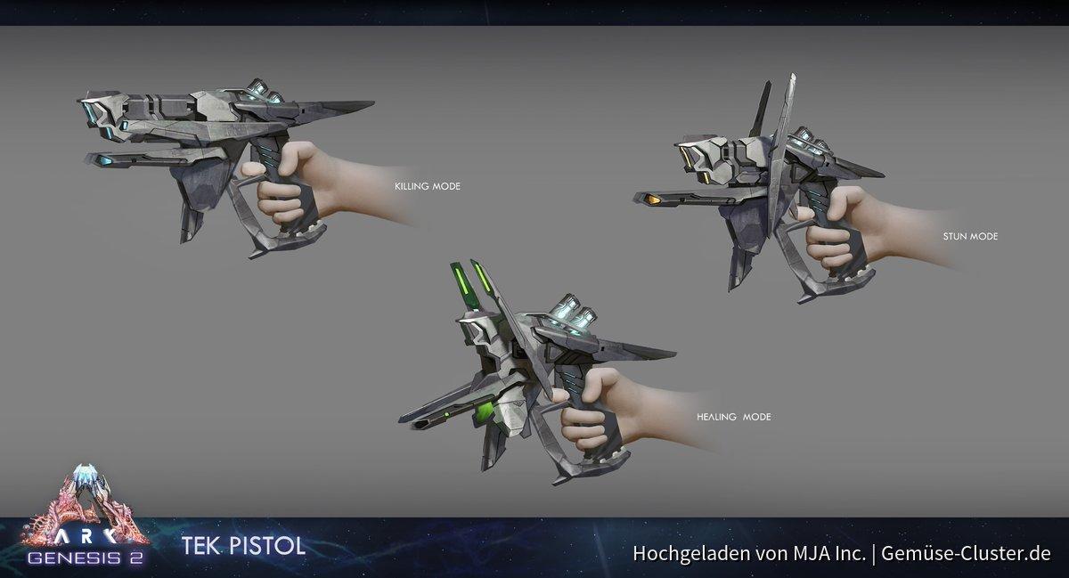 Tek-Pistole