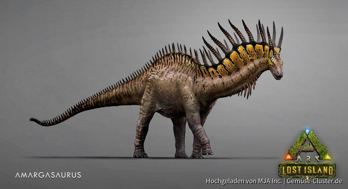 Lost Island - Anargasaurus