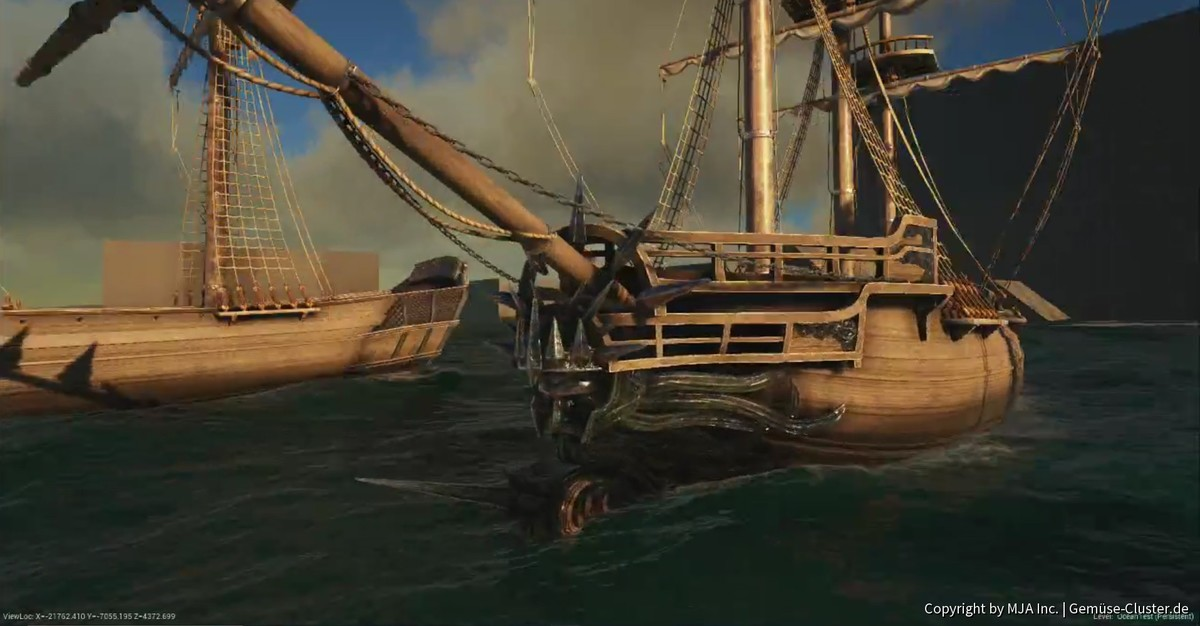 Galionsfigur Poseidon