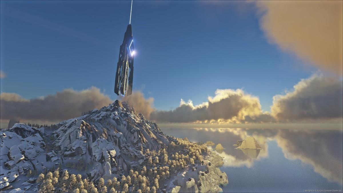 TheIsland Blue Tower