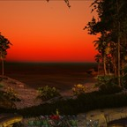 Sonnennaufgang in Atlas, fast wie in Ark in der Wüste :)