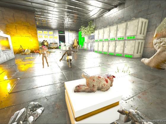 Tanjas Shinehorn lebte genau 1 Std... und dann kam Tobi mit einem Bloodstalker :D