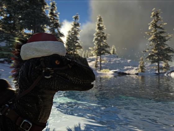 Christmas Raptor