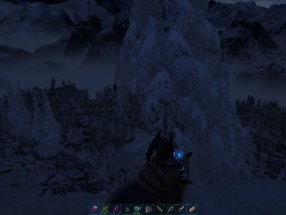 Erstbesteigung des Frostnasengipfels