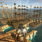 Kleiner Hafen, große Schiffe