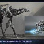 Extra Live 2020 - ARK - Genesis 2 -- Stryder mit Erntewerkzeug