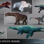 ARK Genesis Reskins